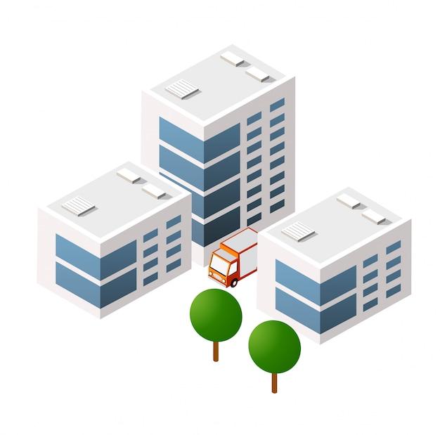 等尺性3 dモジュールブロック
