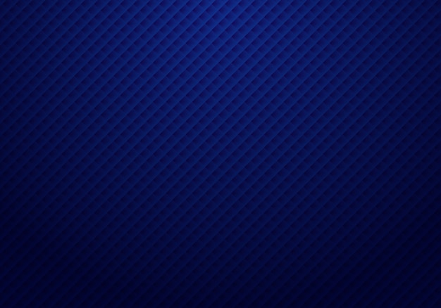 抽象的な3 dダークブルーの正方形のパターン
