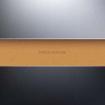 段ボール紙の質感の抽象的な3 d背景ベクトル