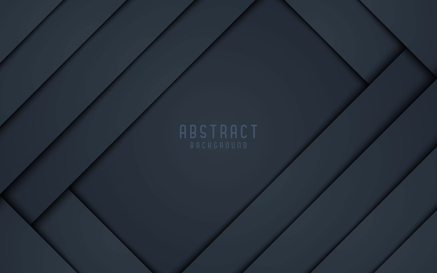 抽象的な背景黒とグレーの3 dスタイル。