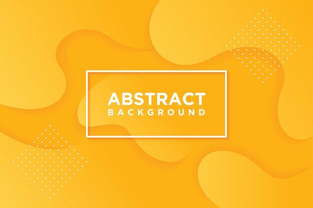 現代のベクトルテンプレート。オレンジ色で抽象的な3 d背景。