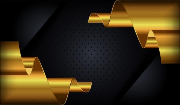 3 dブラックのテクスチャスタイルのオーバーラップの背景