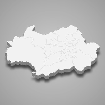 韓国の3 dマップ領域