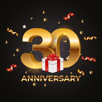 30周年記念テンプレート