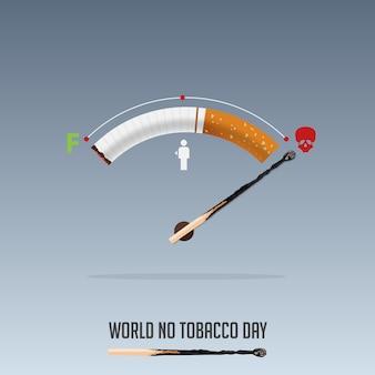 Всемирный день без табака, 31 мая плакат «не курить».