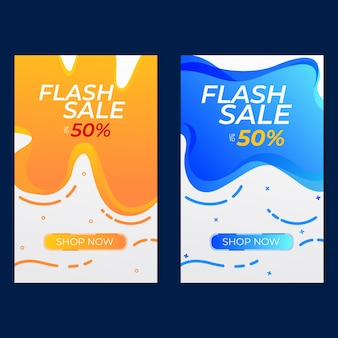 34. set of discount with flash discount