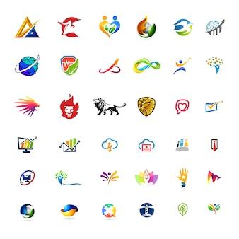 36 логосов