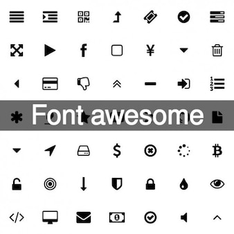 369 Awesome font icons