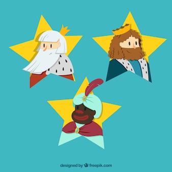 東洋の3人の王