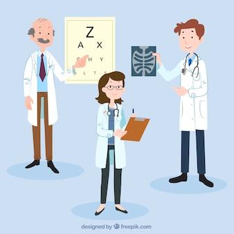 3つの博士のキャラクターコレクション