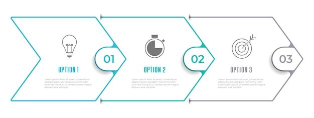 Хронология инфографики шаблон 3 варианта.