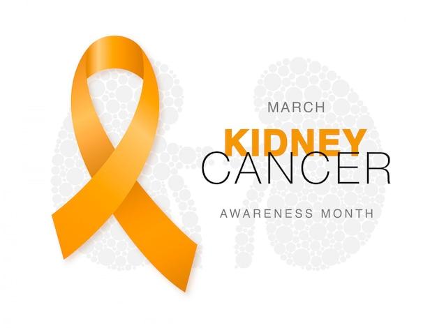 3月-腎臓がん啓発月間。