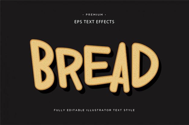 Дождь красочный 3d текстовый стиль 3d полоса текстовый эффект