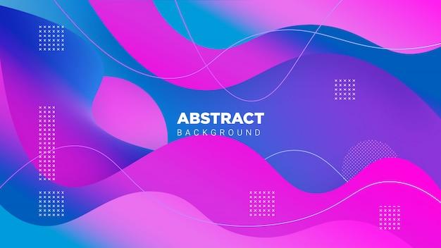 グラデーション3d abstrack背景