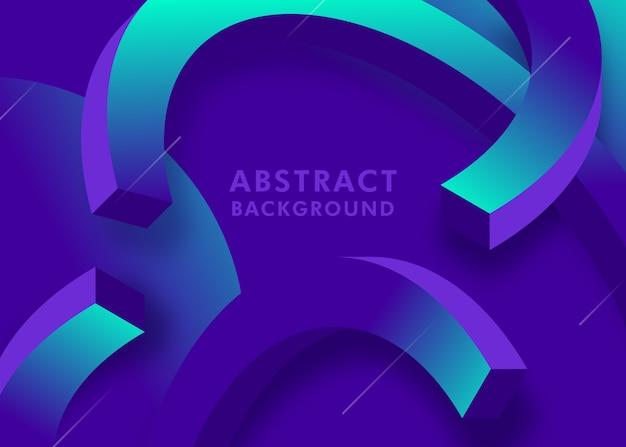 3d抽象的な背景デザイン