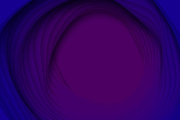 紙のカット形状の3d抽象的な背景。