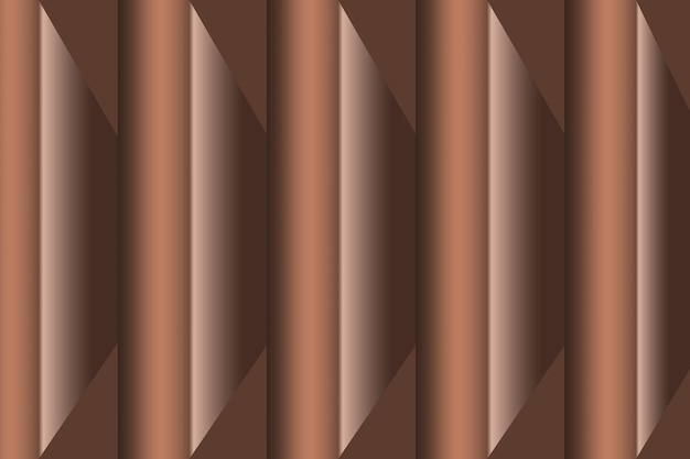 3d абстрактный коричневый прямоугольник bakcground