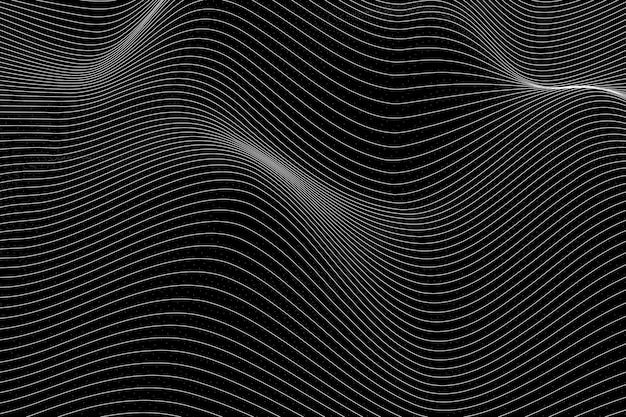 3d abstract wave pattern background