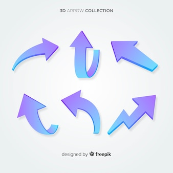 3d arrow collection