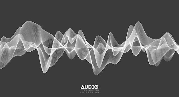 3d audio soundwave