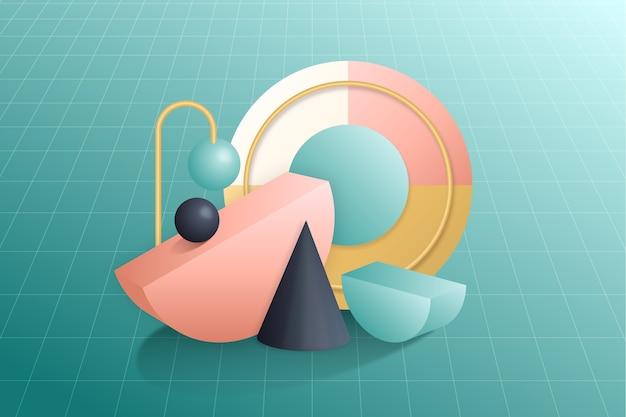 3d background concept