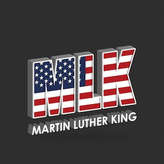 3d background for martin luther king jr. day
