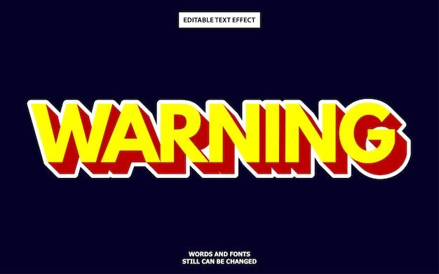 3d bold font effect