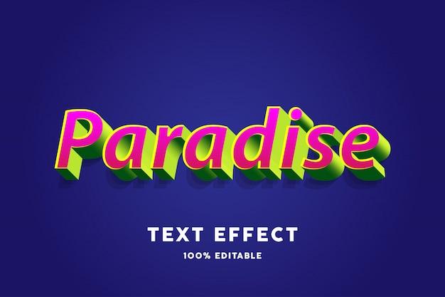 3d bold зеленый и красный текстовый эффект