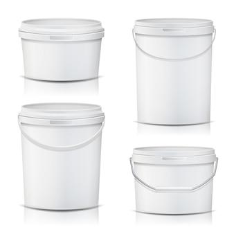3d bucket set