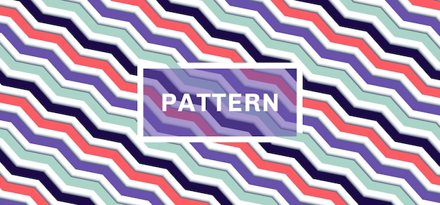 3dシェブロンパターン