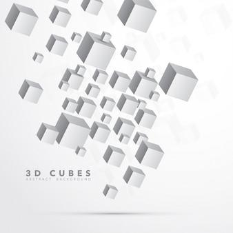 Абстрактные фоны 3d кубов