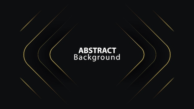3d dark line abstract background with diagonal overlap layers