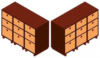 3D design for wooden cabinets