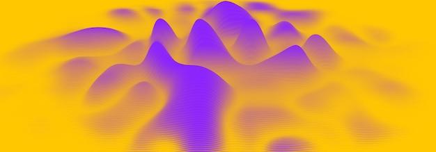 3d echo audio wavefrom spectrum