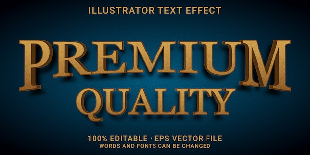 3d編集可能なテキスト効果-プレミアム品質のスタイル