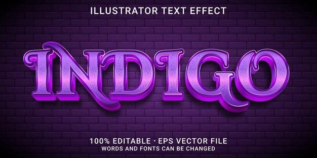 Редактируемый текстовый эффект 3d