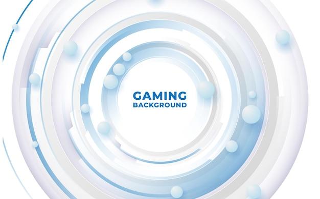 3d elegant gaming background