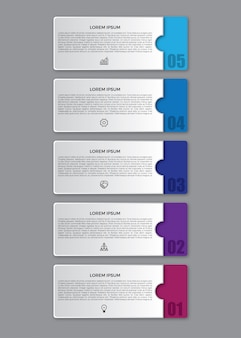 3d flat infographic design template.