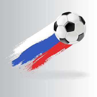 3d football isolated ball on transparent background.