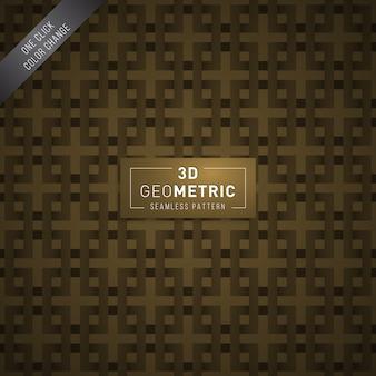 3d 기하학적 완벽 한 패턴