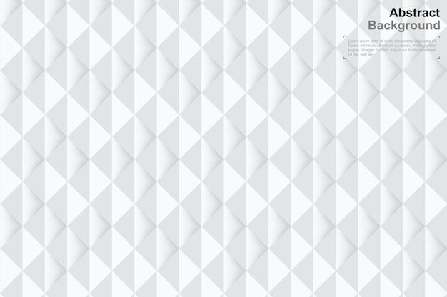 Предпосылка 3d геометрии в стиле бумажного искусства. минимальный узор.