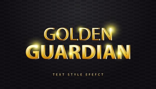 Эффект стиля 3d золотой текст с косой текстурой