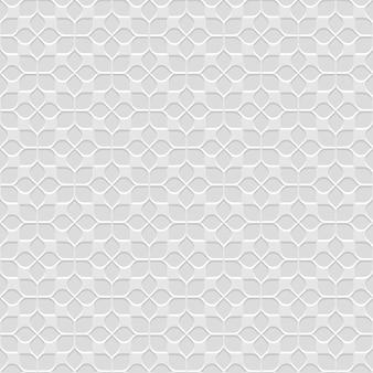 3d grey seamless flower pattern in oriental style