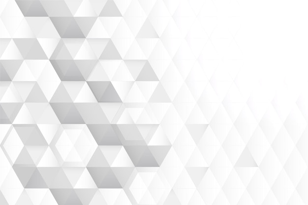 3d honeycomb copy space white background