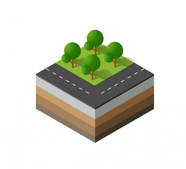 3d icon ecological natural