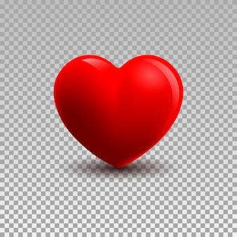 3d иллюстрации сердца, изолированные на фоне плед. вектор