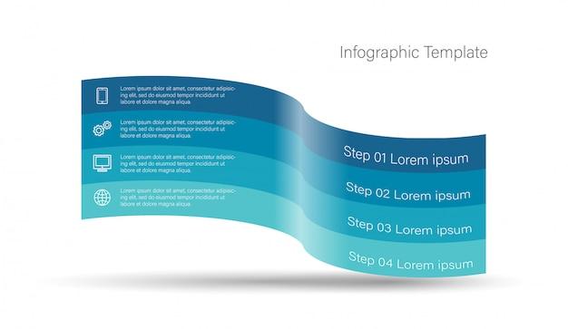 3d infographic elements