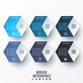프레 젠 테이 션에 대 한 3d infographic 템플릿입니다. 비즈니스 데이터 시각화. 추상 요소. 인포 그래픽을위한 창조적 인 개념.