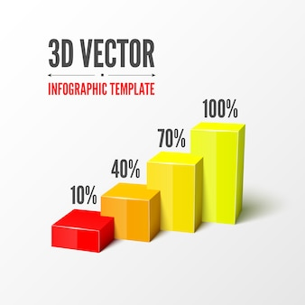 3d infographic template