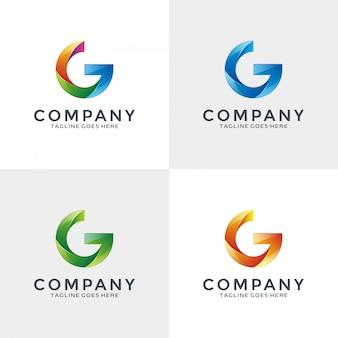 3d letter g logo design